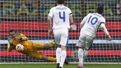Europa League, Inter soffre e vince Con Napoli e Fiorentina ai sedicesimi
