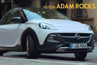 Adam Rocks, ecco l'idea Opel per il lancio