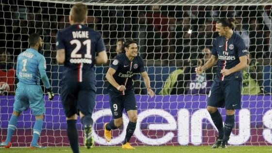 Francia: Ibrahimovic stende il Nizza, il Psg bracca il Marsiglia