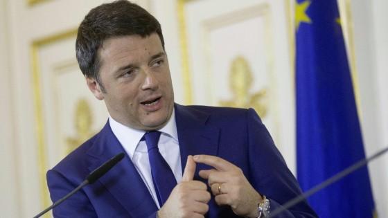 """Renzi: """"Berlusconi rispetti i patti, prima l'Italicum poi il Colle. L'Ilva tornerà allo Stato, la salviamo e poi vendiamo"""""""