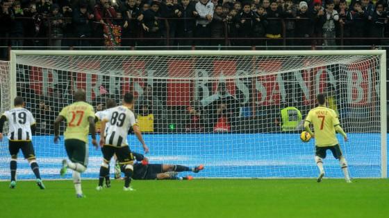 Milan-Udinese 2-0: doppio Menez, ma i bianconeri recriminano