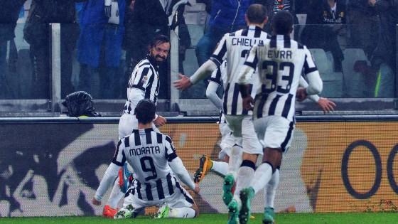 Juventus-Torino 2-1, Pirlo mette in ginocchio i granata