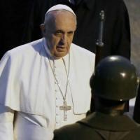 """Papa Francesco: """"Credo che la Siria non fosse in grado di costruire armi chimiche"""""""
