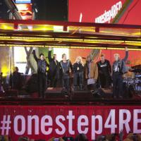 Aids, il concerto a New York con Springsteen e gli U2