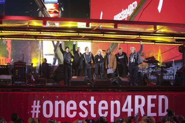 Aids, il concerto a New York con Springsteen e gli U2