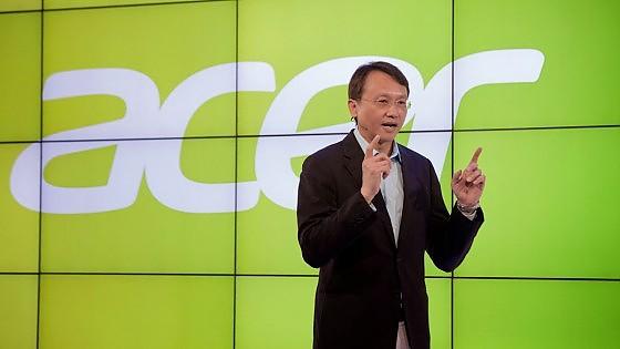 Il numero uno di Acer lancia la sfida a Apple