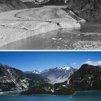 Il ritiro dei ghiacciai, ieri e oggi: la mostra a Roma