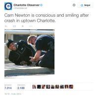 Nfl, su Twitter le immagini dell'incidente al quarterback