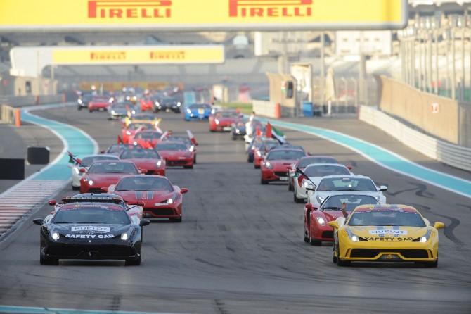 Raduno record di Ferrari in Medio Oriente
