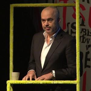 """Edi Rama: """"La politica? In Albania ora è un'arte"""""""