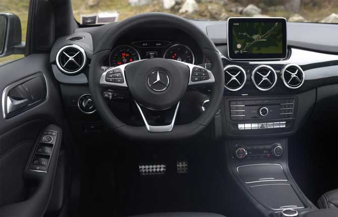 Classe b consumi latest mercedes classe b with classe b for Mercedes g interno