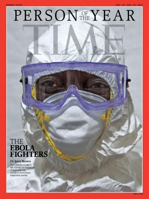 Time, gli operatori che lottano contro l'ebola eletti persone dell'anno