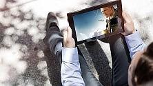 Gli italiani sono primi al mondo nell'utilizzo del tablet fuori casa