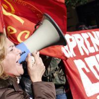 Sciopero generale, un 12 dicembre in piazza: il fotoracconto