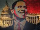 """Se Obama diventa icona pop A Napoli la poetica di """"Obey"""""""