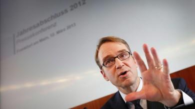 "Weidmann: ""Il mio no a Draghi sui bond Bene le riforme, ma l'Italia deve attuarle"""