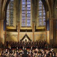 Assisi, Piovani e Anggun al concerto di Natale nella basilica di san Francesco