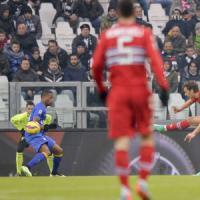 Juventus-Sampdoria 1-1: Gabbiadini ferma i bianconeri