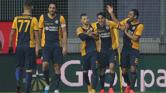Udinese-Verona 1-2: rilancio Hellas, Christodoulopoulos salva Mandorlini