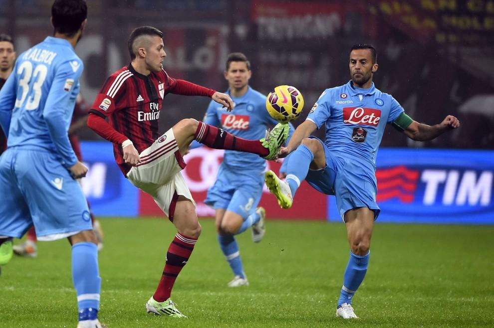 Milan-Napoli, il film della partita