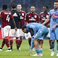 Milan-Napoli 2-0: Menez e Bonaventura lanciano il Diavolo, azzurri agganciati