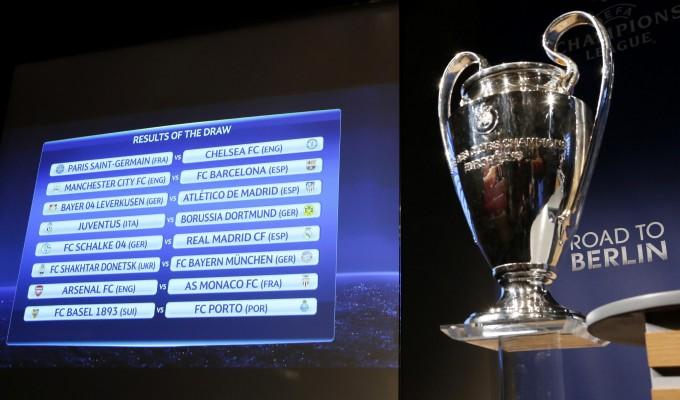 Champions, la Juve trova il Borussia Dortmund. EL, Inter con il Celtic e Tottenham-Fiorentina