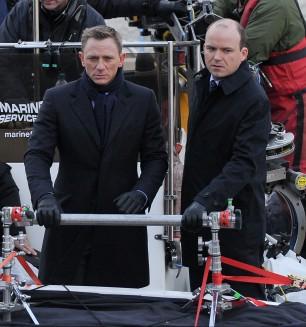 """007 è tornato, Daniel Craig sul set di """"Spectre"""""""