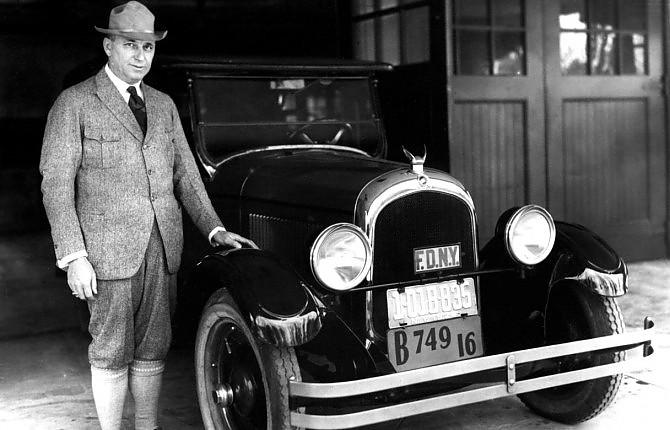 Walter Percy Chrysler, il pioniere che realizzò il sogno americano
