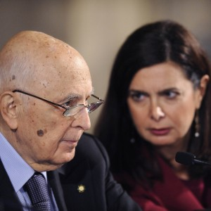 """Quirinale, il saluto di Napolitano: """"Voci di scissioni e voto anticipato fanno perdere tempo al Paese"""""""