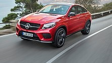 Nuovo Mercedes GLE il suv sportivo -   foto