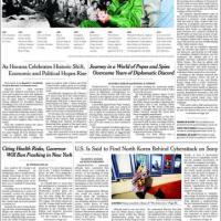 Disgelo Usa-Cuba: le prime pagine dal mondo