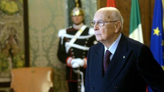 """Giorgio Napolitano: """"Imminente la fine del mio mandato presidenziale"""""""