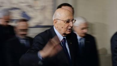 """L'annuncio di Napolitano   video   """"Imminente la fine del mio mandato"""""""