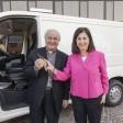 Regalo di Confindustria  un furgone per Sant'Egidio