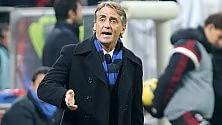 """Mancini: """"Tornato per affetto, ma stavo bene..."""""""