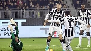 Stasera è già campionato  diretta Cagliari-Juve 0-2