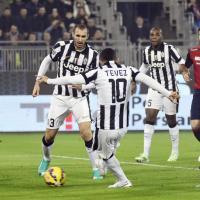 Cagliari-Juventus, il film della partita