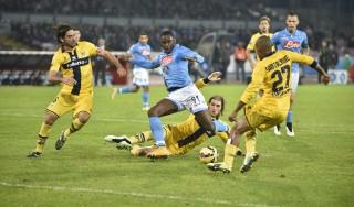 Napoli-Parma 2-0, gli azzurri ritrovano la vittoria