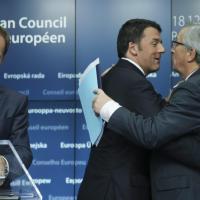 Vertice Ue: Renzi, Juncker e gli altri
