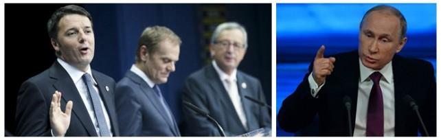 """Vertice Ue , ok al piano Juncker da giugno    foto   Renzi: """"Direzione giusta, c'è  flessibilità """"   video"""