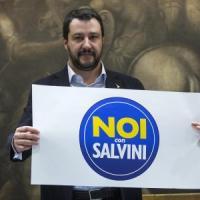 La Lega sbarca al Sud, Salvini presenta il simbolo