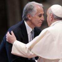 """Olimpiadi, gli auguri del Papa alla candidatura di Roma: """"Nel 2024 io non ci sarò, eh?"""""""