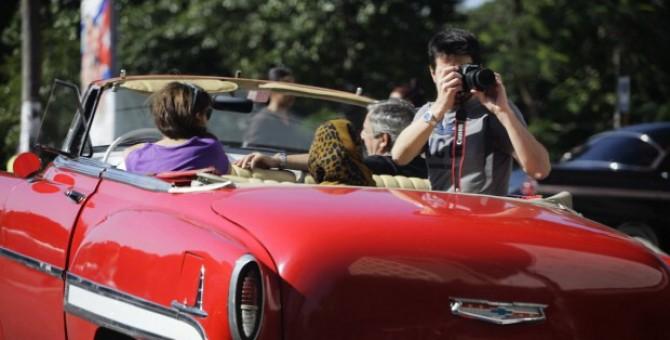 Auto d'epoca a Cuba, monumento nazionale
