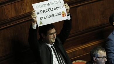 """Legge Stabilità , sì nella notte in Senato   Renzi:  """"Stoppato assalto alla diligenza"""""""