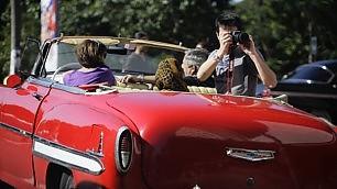 Auto d'epoca a Cuba   Foto   come monumenti nazionali