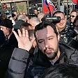 Torino, Salvini contro  i rifugiati, contestato dai centri sociali   foto -     video