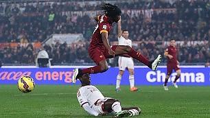 Il Milan blocca la Roma: 0-0 La Juventus torna a + 3    foto