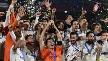 Real, un altro trofeo   foto   Il San Lorenzo cede 2-0