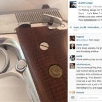 New York, la foto con cui annuncia su Instagram l'agguato ai due poliziotti