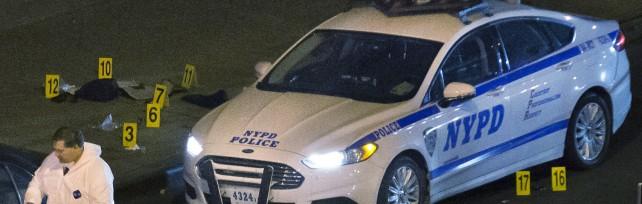 """New York, 2 poliziotti uccisi in auto   foto     mappa   """"Vendetta per Michael Brown e Eric Garner"""""""